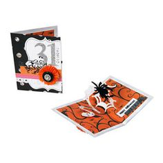 Happy Halloween Spider & Spiderweb Pop-Up Card