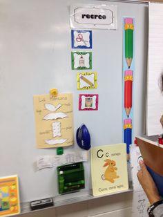 Bilingual Classroom Ideas