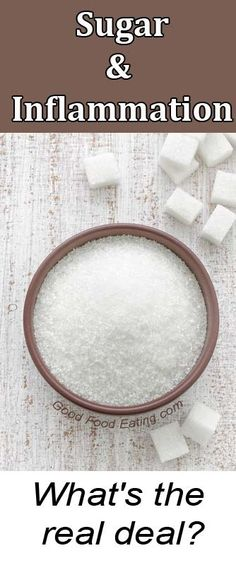 We all love sugar, we don't want to give it up, but we also want to know how sugar might influence our health and in particular contribute to inflammation. So let's dig into that now.