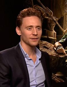 "Tom Hiddleston is adorable even saying ""shit"". :D"