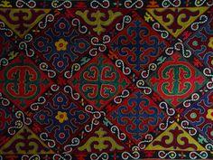 Kyrgyz carpets, shyrdak