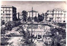 Η Πατησίων από την πλατεία Αιγύπτου, στη συμβολή με την Λεωφ. Αλεξάνδρας, κατά τη περίοδο της κατοχής