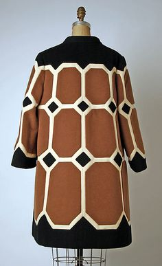 Design House: House of Balmain (French, founded 1945) Designer: Pierre Balmain (French, St. Jean de Maurienne 1914–1982 Paris) Date: ca. 1968 Culture: French Medium: wool - See more at: http://www.metmuseum.org/collection/the-collection-online/search/96112?img=1#sthash.HG6DJjcr.dpuf