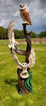 Chainsaw-Carvings