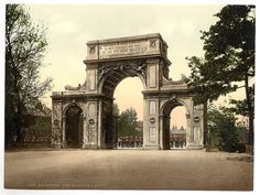 The Memorial Arch, New Brompton, England  (LOC) ca. 1895