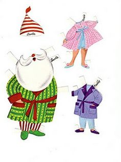 Santa, Master Elf and Miss Elf