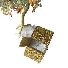 Byzantine Style Watch Clamper Bracelet  Tori Spelling by openslate