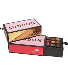 PIERRE MARCOLINI - Tom Dixon London Brick chocolate selection | Selfridges.com
