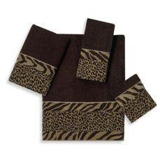 For Anne Marie - Avanti Cheshire Fingertip Towel in Java - BedBathandBeyond.com