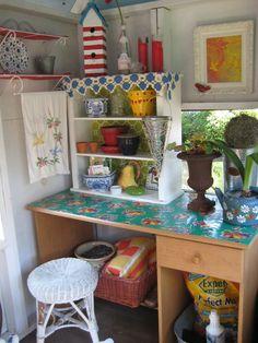 sweet potting shed