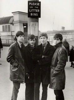 Paul , George, John, and Ringo my favorite people