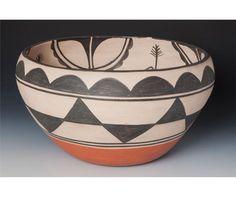 Santo Domingo Pueblo Bowl - Robert Tenorio - Cultural Patina