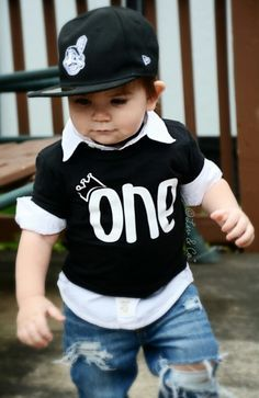 Mr ONEderful 1st Birthday shirt Front and Back by HappyBrooke