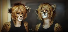 cheetah boy by MiriamBast.deviantart.com on @deviantART
