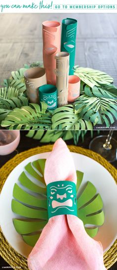 These Paper Tiki Lanterns Are Perfect for Tropical Parties - Lia Griffith - - Planning any more get-togethers this summer? Keep the vacation vibes going with a tropical party. These cute tiki lanterns are a perfect addition! Aloha Party, Luau Theme Party, Hawaiian Party Decorations, Hawaiian Luau Party, Hawaiian Birthday, Luau Birthday, Party Themes, Birthday Parties, Party Ideas