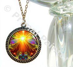 Chakra Art Unique Jewelry Reiki Healing Necklace