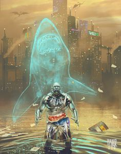 Caliban the Orc - Shark Totem Shaman by KsiazeKrzysztof on DeviantArt