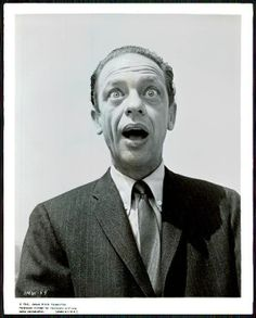 """1963 Don Knotts picture from the movie """"It's a mad mad mad mad world"""""""