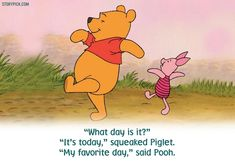 These 16 Quotes From Winnie-the-Pooh Are The Little Talked About Truths Of Life Disneyland Quotes, Disney Quotes, Winne The Pooh, Winnie The Pooh Friends, Inspiring People Quotes, Inspirational Quotes, Pooh And Piglet Quotes, 90th Birthday Parties, Happy Birthday