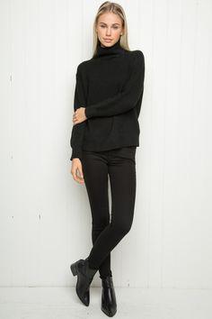 Brandy ♥ Melville   Isabeli Turtleneck Sweater - Just In