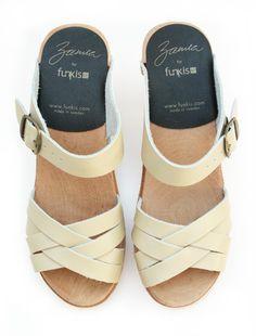 high plait sandal natural