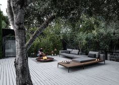 Best outdoor patio chaise lounge ideas must have in your backyard or front yard pool deck. Styles your home with these patio furniture chaise lounge design Outdoor Seating, Outdoor Rooms, Outdoor Gardens, Outdoor Living, Outdoor Decor, Outdoor Fire, Outdoor Daybed, Jacuzzi Outdoor, Outdoor Projects