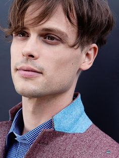 Fall Winter Fashion + Young Hollywood Year Book // Matthew Gray Gubler (Criminal Minds) and Rachelle Lefevre (Under The Dome), and more, . Matthew Gray Gubler, Matthew Grey, Dr Reid, Dr Spencer Reid, Criminal Minds Cast, Attractive Men, Sensual, Pretty Boys, Beautiful Men