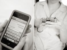 Like the idea of capturing the pre-wedding texts between the bride and groom :)