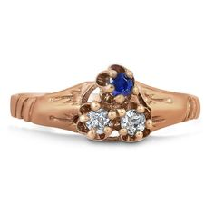 10K Rose Gold The Yuonne Ring from Brilliant Earth