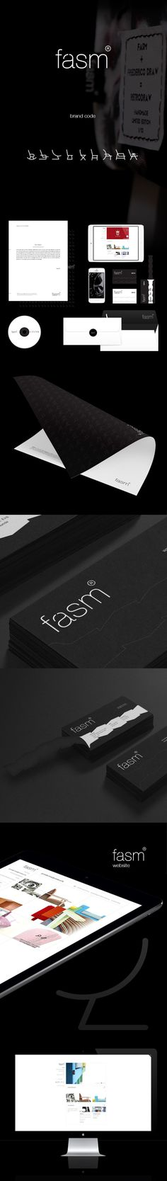 fasm brand identity on Behance