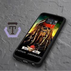 Captain Chewbacca Star Wars Samsung Galaxy S6 Edge Plus Black Case