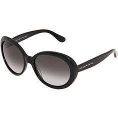 Kate Spade New York Nerissa Black/Grey Gradient Lens - Zappos Couture