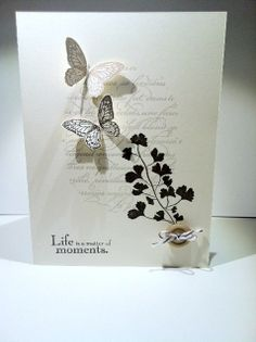 Cards and Scrapping: Stampin Up Papaya Collage, En Francais, Elements of Style