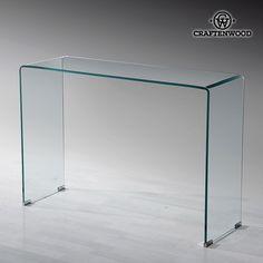Hall (110 x 35 x 75 cm) Curved glass