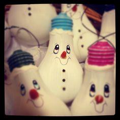 Lightbulb ornaments