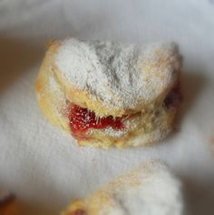 The English Kitchen: Jam-filled Scones.  Great English site.