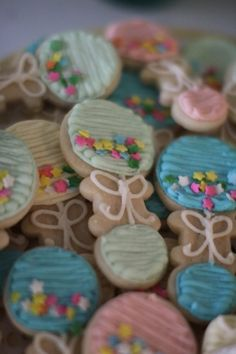 Adorable rattle cookies.