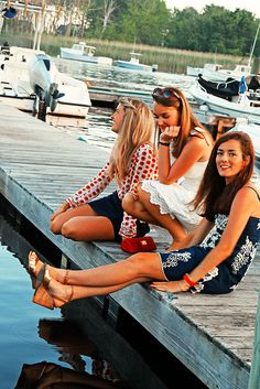 Classy Girls Wear Pearls: From Sea to Shining Sea