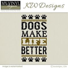 DIGITAL DOWNLOAD ... Pet Vector in AI, EPS, GSD, & SVG formats @ My Vinyl Designer #myvinyldesigner #kwdesigns