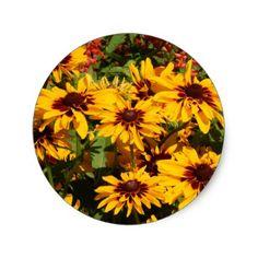 Blanket Flower Sticker - craft supplies diy custom design supply special