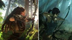 8 Ways To Tell If You'll Like Horizon Zero Dawn  In a sea of sequels it's rejuvenating to welcome the fresh face of Horizon Zero Dawn to the video games stage. To help you better understand this post-post-apocalyptic adventure here are some elements from movies and games that it most reminds me of. If you like these Horizon Zero Dawn could be a perfect match.   Both Aloy and the rebooted version of Lara Croft wield bows  The '90s was the era that birthed one of the defining virtual…