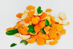 Cómo hervir cáscaras de naranjas en agua