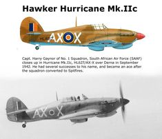 Hawker Hurricane Mk.IIc Navy Aircraft, Aircraft Photos, Ww2 Aircraft, Military Aircraft, South African Air Force, Hawker Hurricane, War Thunder, Ww2 Planes, Royal Air Force