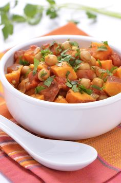 Sweet Potato Curry with Chickpeas - Dr. Mark Hyman