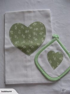 Linen Tea Towel and Pot Holder