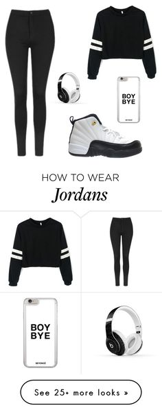 """"" by chrishyaciechan on Polyvore featuring Topshop, TAXI and Beats by Dr. Dre"
