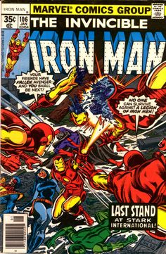 Iron Man # 106 by Dave Cockrum & Terry Austin