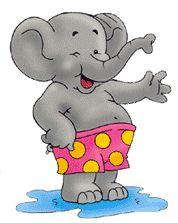 Картинки слон анимашки, рождением