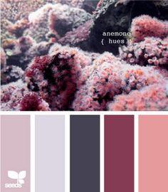 lilac gray dark gray mauvey maroon blush