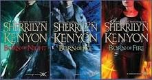 The first three books (though out of order) of Sherrilyn Kenyon's The League series. A series set in space, these are tales of loyalty, love, betrayal and serious kick-ass-ed-ness...enjoy.